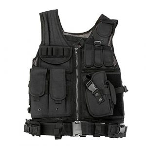 Redland Art Airsoft Tactical Vest 1 Redland Art Men's Military Tactical Vest Army Molle Vest Outdoor CS Airsoft Paintball Equipment Body Armor Hunting Vest 4 Colors Airsoft Tactical Vest