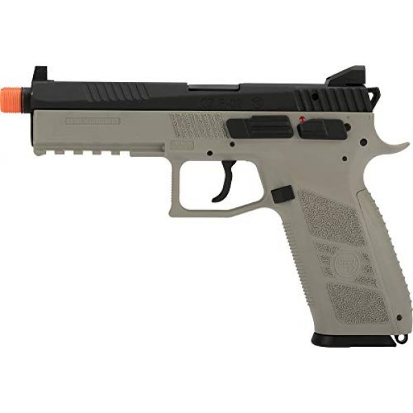 Evike Airsoft Pistol 4 Evike ASG CZ P-09 Licensed Airsoft GBB Gas Blowback Full Metal Airsoft Pistol (Color: Urban Grey)