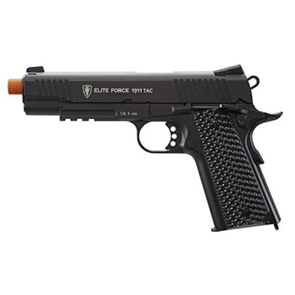 Wearable4U Airsoft Pistol 3 Wearable4U Umarex Elite Force 1911 TAC Gen3 Airsoft Pistol with Included 5x12 Gram CO2 Tanks Pack of 1000 6mm 0.20g BBS Bundle