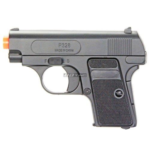 BBTac Airsoft Pistol 3 BBTac Airsoft Pistol Twin Pack - 110 FPS Spring Pocket Airsoft Gun with Storage Case