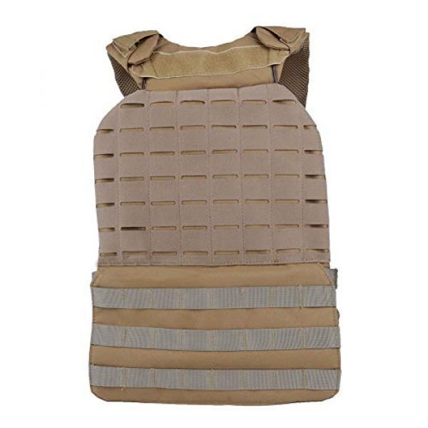 Tactical Area Airsoft Tactical Vest 4 CS Army Vest Multi-Functional Tactical Airsoft Vest Breathable and Quick Release Tactical Vest