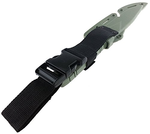 SportPro Airsoft Tool 4 SportPro Rubber Combat Knife M37 Style for Training Airsoft Olive Drab