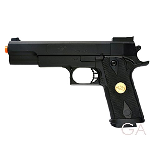 BBTac Airsoft Pistol 1 BBTac Airsoft Pistol Handgun Government .45 1911 Spring Loaded Gun