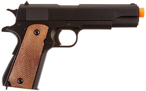 BBTac Airsoft Pistol 2 BBTac BT-1911A1 Metal and ABS Spring Airsoft Pistol 250-FPS Airsoft Gun