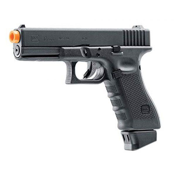 "Umarex USA Airsoft Pistol 2 Umarex USA, Glock Air Pistols, Model 17 Gen 4, 6mm, 3 3/4"" Barrel, Fixed Sights, Black"
