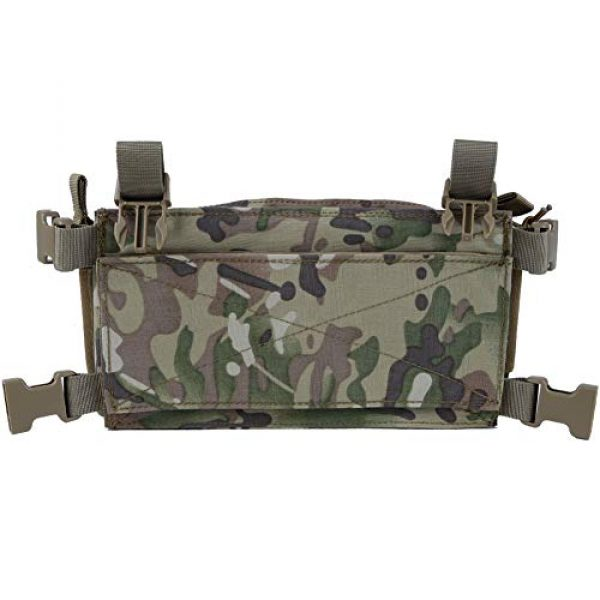 Downhill Airsoft Tactical Vest 7 Camouflage Tactical Vest Airsoft Ammo Box Rig, and Chest Camo Downhill Tactical Vest 5.56 Inch, 0.354InchTactical Vest