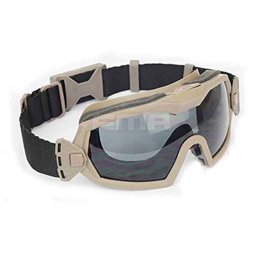 ATAIRSOFT Airsoft Goggle 3 ATAIRSOFT Fan Version Cooler Airsoft Glass Regulator Goggles Ski Snowboard Bike Sports
