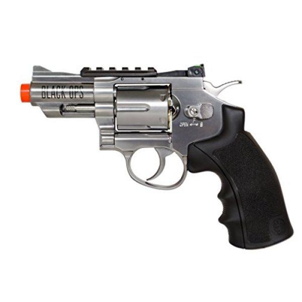Black Ops Airsoft Pistol 1 Black Ops Exterminator Revolver Airsoft Pistol