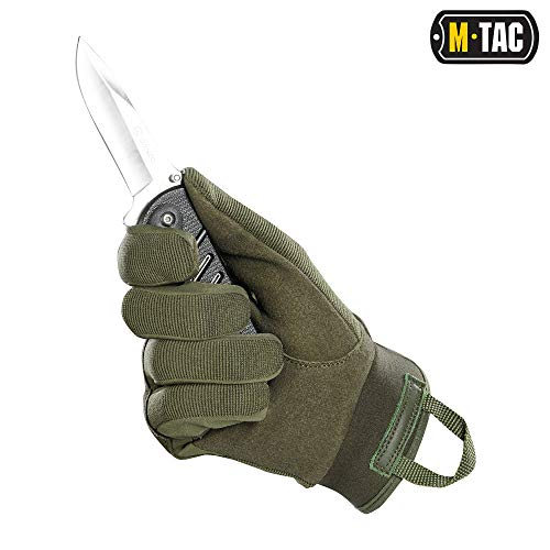 M-Tac Airsoft Glove 4 M-Tac Tactical Gloves Full Finger Assault Airsoft Protective Gear