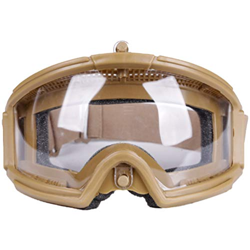 BESPORTBLE Airsoft Goggle 1 BESPORTBLE Military Goggles Hunting Eyewear for Paintball Riding Shooting Hunting Cycling CS Game (Black Style)