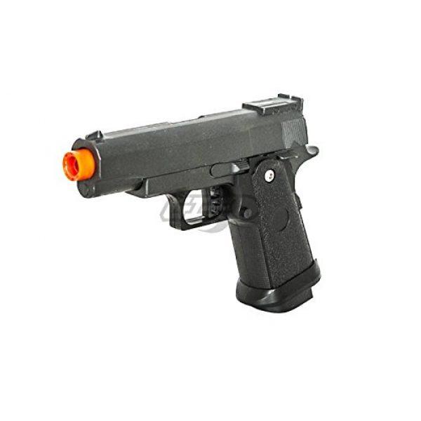 UKARMS Airsoft Pistol 3 UK Arms G10A Mini M1911 Hi Capa 4.3 Metal Spring Airsoft Pistol – Metal Spring Airsoft Gun for Beginners (Black)