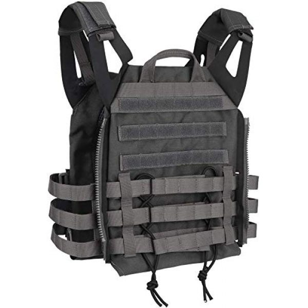Will Outdoor Airsoft Tactical Vest 3 Will Outdoor Tactical Molle Military Combat Vest JPC Tactical Hunting Multicam Airsoft Vest