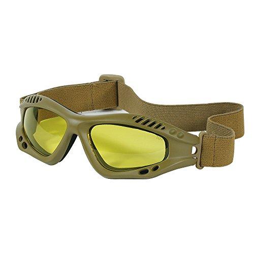 VooDoo Tactical Airsoft Goggle 1 VooDoo Tactical Men's Sportac Goggle Glasses