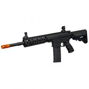Tippmann Airsoft Airsoft Rifle 1 Tippmann Tactical Commando AEG Carbine 14.5in Airsoft Rifle Black