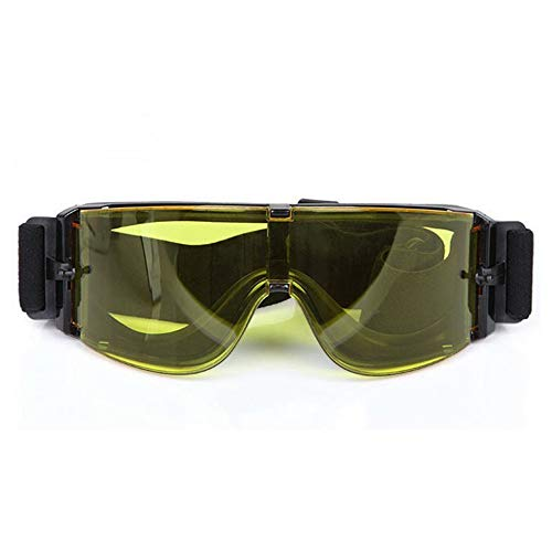 Fuous Airsoft Goggle 3 Fuous USMC X800 Tactical Hunting Shooting Glasses Airsoft Goggles Safety Outdoor Sport Safety Glasses Eye Protection Sungalsses 3 Lens