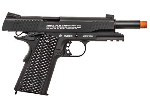 Elite Force Airsoft Pistol 4 Elite Force 1911 Gen 3 Tactical CO2 Blowback Airsoft Pistol (Black)