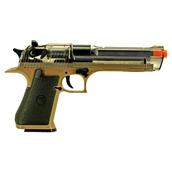Palco Sports Airsoft Pistol 1 Palco Sports 90103 War Inc DE50AE Spring Airsoft Pistol, Black