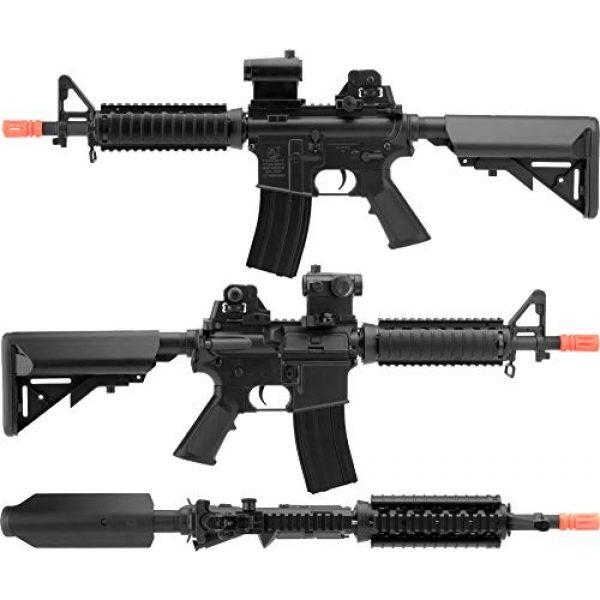 Colt Airsoft Rifle 3 Colt M4 A1 Cqbr AEG Black