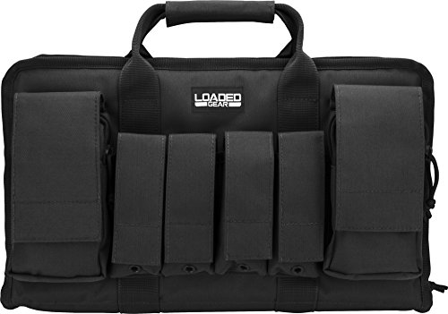 Loaded Gear Airsoft Gun Case 3 Loaded Gear Tactical Pistol Gun Shooting Range Bag 2 Handguns 16 in