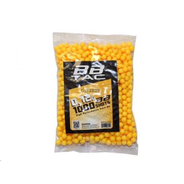 BBTac Airsoft BB 4 BBTac Airsoft BBs .12g Ammo 6mm (3,000 Round Bag, Multi Colors)