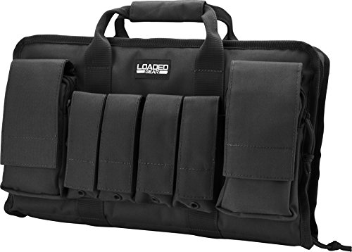 Loaded Gear Airsoft Gun Case 4 Loaded Gear Tactical Pistol Gun Shooting Range Bag 2 Handguns 16 in