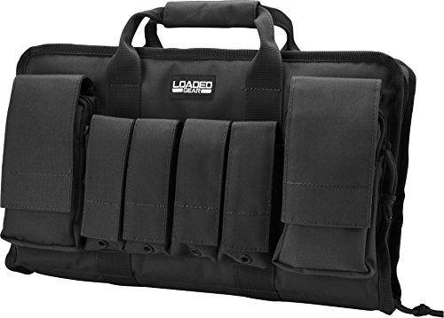 Loaded Gear Pistol Case 4 Loaded Gear Tactical Pistol Gun Shooting Range Bag 2 Handguns 16 in