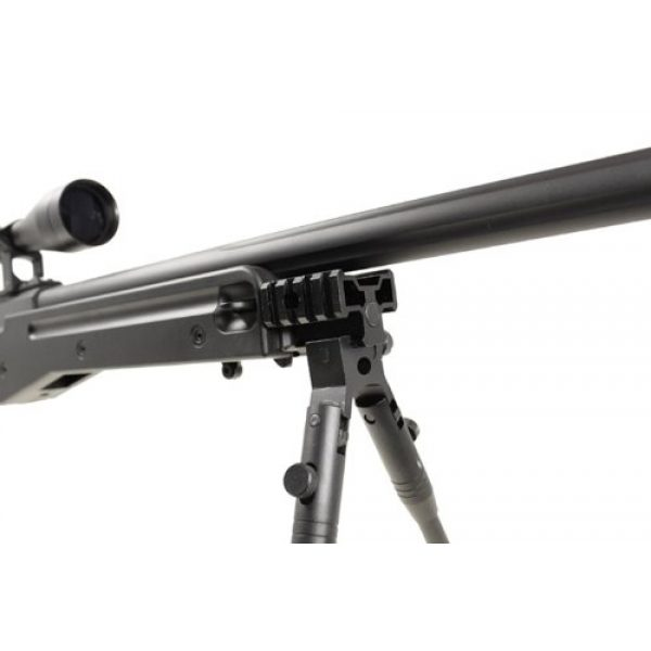Well Airsoft Rifle 5 Well l96 spring sniper airsoft rifle w/ bi-pod and scope(Airsoft Gun)