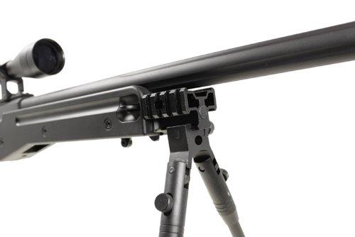 Well  5 Well l96 spring sniper airsoft rifle w/ bi-pod and scope(Airsoft Gun)