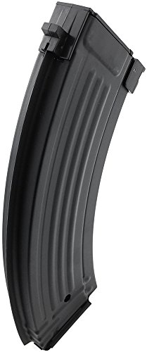 SportPro  4 SportPro 600 Round Metal High Capacity Magazine for AEG AK47 AK74 Airsoft - Black