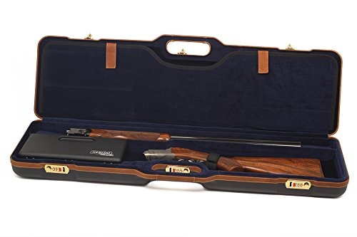Negrini Cases Airsoft Gun Case 1 Negrini Cases 1677LX-UNI/5078 Shotgun Case for O/U and S-Auto/ABS/2 Gun/Barrels to 36-Inch