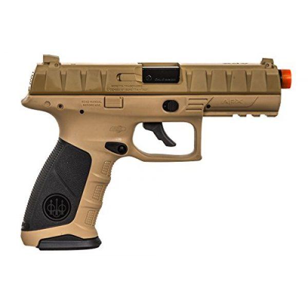 Elite Force Airsoft Pistol 7 Elite Force Beretta APX CO2 Blowback Pistol Airsoft Gun (FDE)