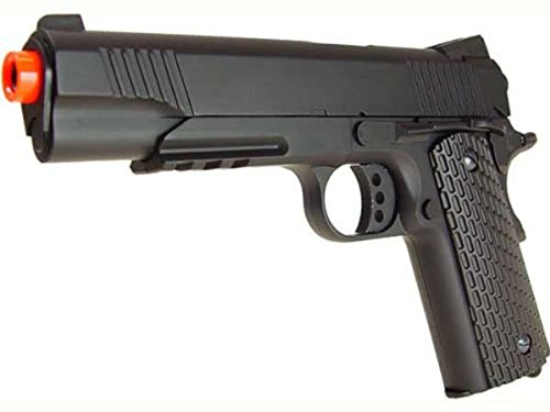 Platnium Sales Airsoft Pistol 1 Double Eagle M291 Metal Spring Pistol w/ Accessory Rail