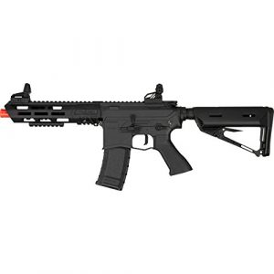 Valken ASL Series M4 Airsoft Rifle AEG 6mm Rifle - Kilo - Black Airsoft Rifles By Valken