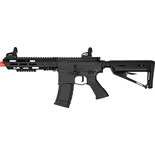 Valken ASL Series M4 Airsoft Rifle AEG 6mm Rifle - Kilo - Black Airsoft Rifles By Valken