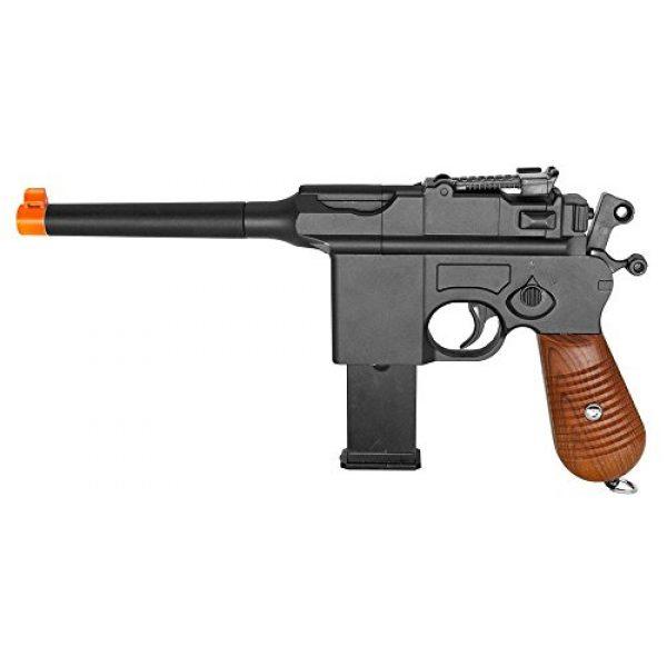 GALAXY Airsoft Pistol 1 WW2 Mauser Broomhandle c96 German Airsoft Spring Hand Gun Pistol