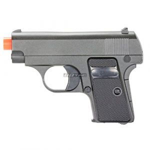 BBTac Airsoft Pistol 1 BBTac G1 Airsoft Full Metal Slide and Body Ultra Subcompact 6-Inch Pocket Pistol 215 FPS Gun