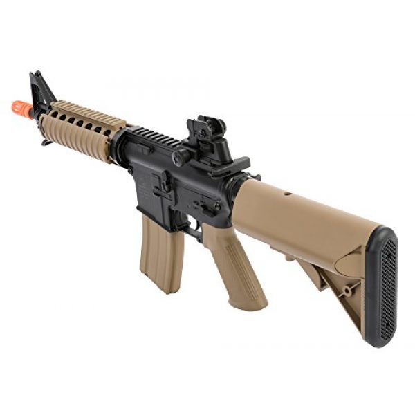 Colt Airsoft Rifle 3 Colt Soft Air CQBR-RIS Electric Powered Airsoft Gun with Adjustable Hop-Up, 350-380 FPS