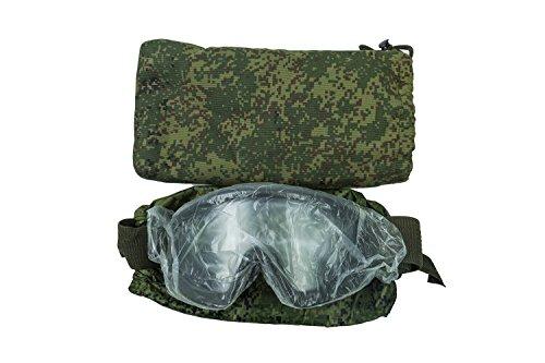 Kirasa Airsoft Goggle 2 6B34 Original Tactical Goggles of Russian Army (3rd Generation) Ratnik Kit