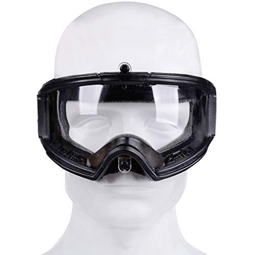 BESPORTBLE Airsoft Goggle 4 BESPORTBLE Protective Safety Goggle Anti-Fog Anti-Spitting Anti-Saliva Goggles Eyewear Eyeshield Safety Glasses -Black