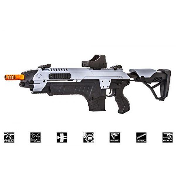 Star Airsoft Rifle 1 CSI S.T.A.R XR5 Advanced Main Battle Rifle M4 Carbine AEG Airsoft Gun ( Black/Gray)