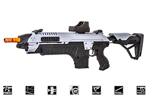 Star  1 CSI S.T.A.R XR5 Advanced Main Battle Rifle M4 Carbine AEG Airsoft Gun ( Black/Gray)