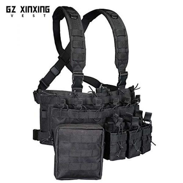 GZ XINXING Airsoft Tactical Vest 3 GZ XINXING Chest Rig Tactical Vest X Harness for Airsoft Shooting Wargame Paintball