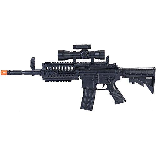 UKARMS Airsoft Rifle 1 UKArms M4 A1 M16 TACTICAL ASSAULT SPRING AIRSOFT RIFLE PELLET SNIPER GUN 6mm BB BBs Air
