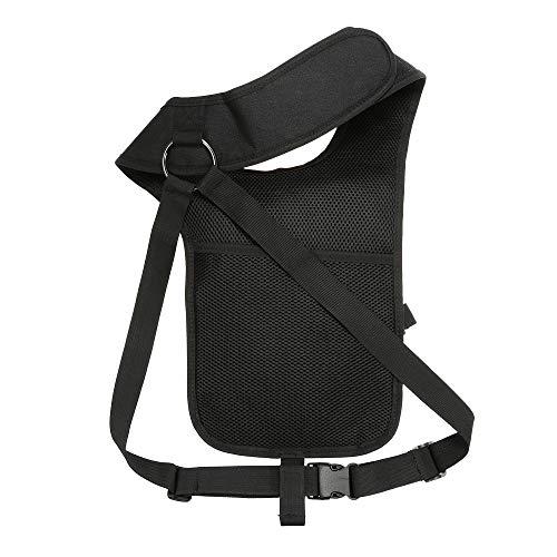 JSVDE  6 JSVDE Men's Shoulder Tactical Bag Concealed Carry Holster Waistband Airsoft Pistol Waterproof Nylon Stealth Tactical Accessory Bag