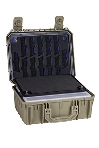Seahorse Protective Equipment Cases Airsoft Gun Case 1 Seahorse Protective Equipment Cases SE630 Locking Six Gun System