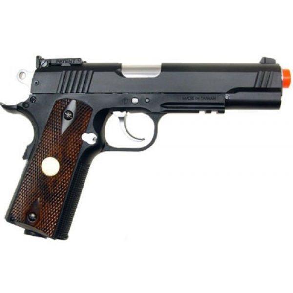WG Airsoft Pistol 2 500 fps new full metal wg airsoft m 1911 gas co2 hand gun pistol w/ 6mm bb bbs(Airsoft Gun)