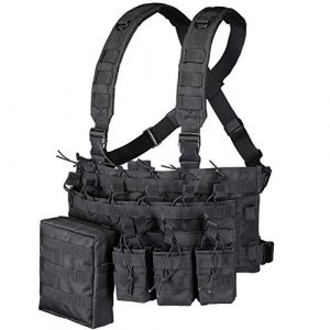 GZ XINXING Airsoft Tactical Vest 1 GZ XINXING Chest Rig Tactical Vest X Harness for Airsoft Shooting Wargame Paintball