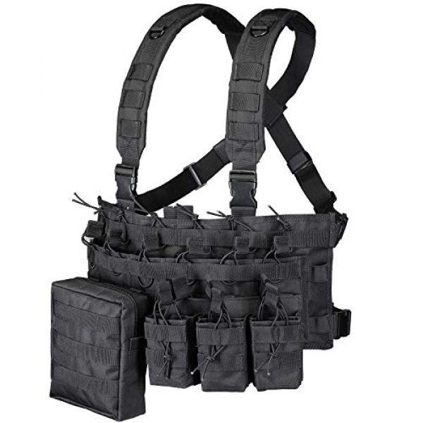 GZ XINXING Airsoft Tactical Vest 1 GZ XINXING Chest Rig Tactical Vest X Harness for Airsoft Shooting Wargame Paintball