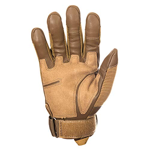 YUNLONG Airsoft Glove 3 YUNLONG Tactical Gloves Touch Screen Motorcycle Full Finger Cycling Motorbike ATV Hunting Hiking Riding Climbing Operating Work Sports Gloves