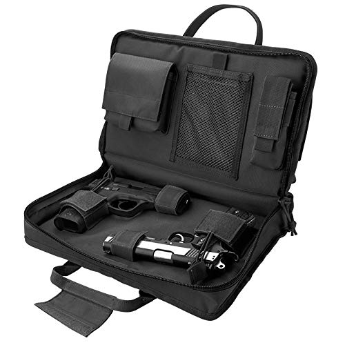 Loaded Gear Airsoft Gun Case 2 Loaded Gear Tactical Pistol Gun Shooting Range Bag 2 Handguns 16 in